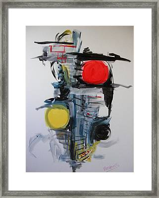 The Unfinished Dream Framed Print by Peter Bethanis