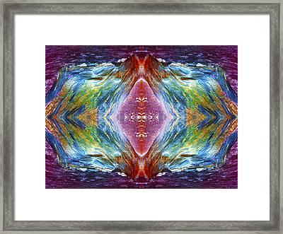 The Unfolding Framed Print