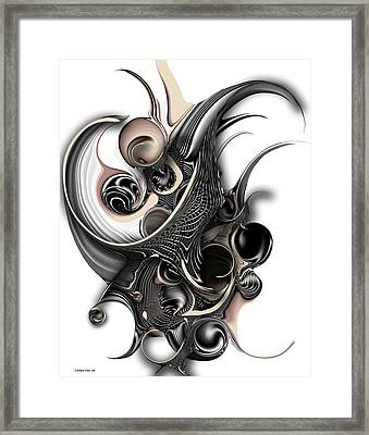 The Unfolding Purity Framed Print