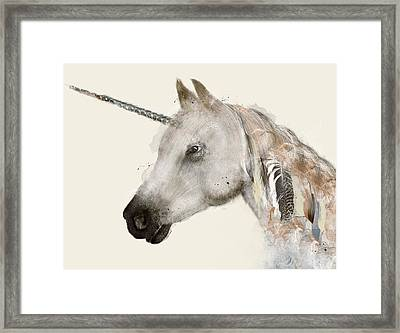 The Unicorn Framed Print