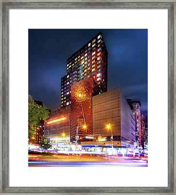 The Union Square Metronome Framed Print