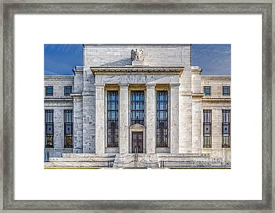 The United States Federal Reserve Framed Print