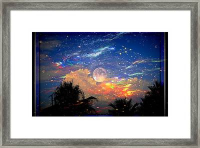 The Universal Moon Framed Print