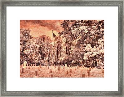 The Unknowns Framed Print