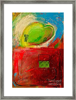 The Unrestricted Heart 4 Framed Print by Johane Amirault
