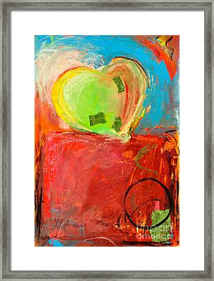 The Unrestricted Heart 5 Framed Print by Johane Amirault