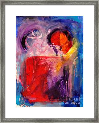 The Unrestricted Heart Framed Print by Johane Amirault