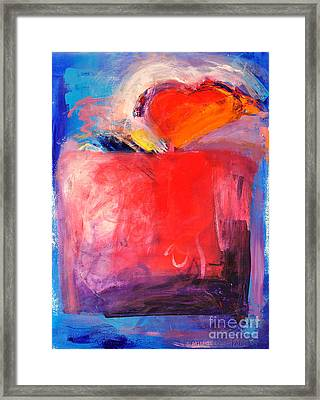 The Unrestricted Heart Two Framed Print by Johane Amirault