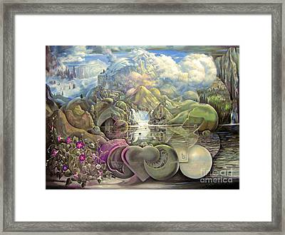 The Unseen Reality Framed Print by Alfred Dolezal