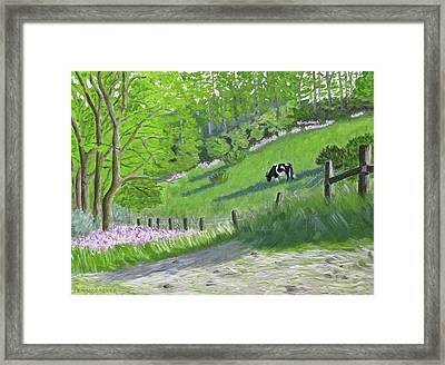 The Untaught Harmony Of Spring Framed Print