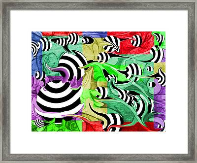 The Unusual Framed Print by Dan Fluet