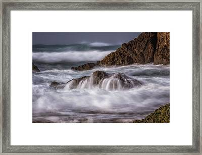 The Unveil Framed Print