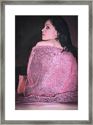Flamingo Pink Framed Print by Wendy Martinez