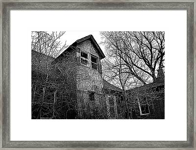 The Upstairs Lookout Framed Print by Phil Koch