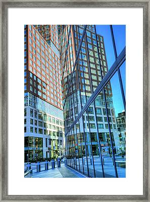 The Urban Maze Framed Print by JC Findley