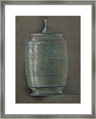 The Urn Framed Print by Ron Sylvia