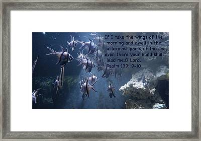 the Uterrmost Parts Of The Sea Framed Print
