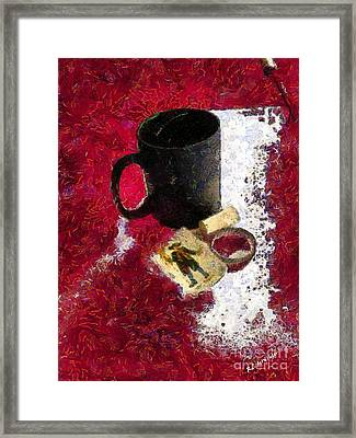 The Vagaries Of Fortune Framed Print by RC deWinter