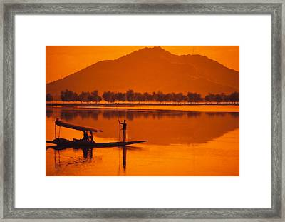 Framed Print featuring the photograph The Vale Of Kasmir by Carl Purcell