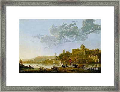 The Valkhof At Nijmegen Framed Print by Celestial Images
