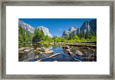 The Valley Framed Print by JR Photography
