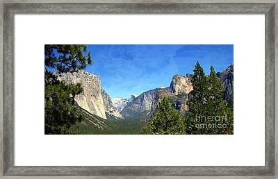 The Valley Of Inspiration-yosemite Framed Print by Glenn McCarthy Art and Photography
