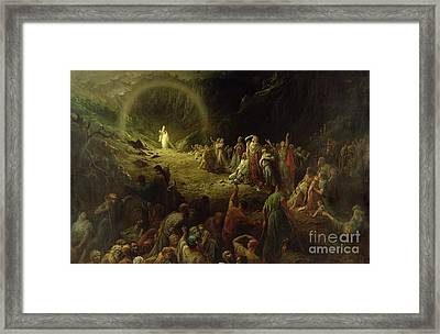 The Valley Of Tears Framed Print by Gustave Dore