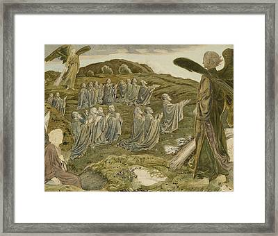 The Valley Of Vision Framed Print by Henry A Payne