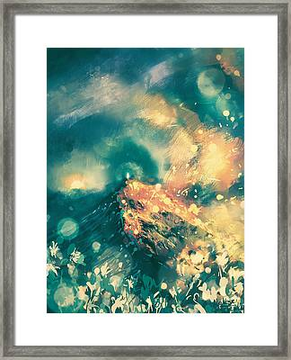 The Value Of Uniqueness Framed Print