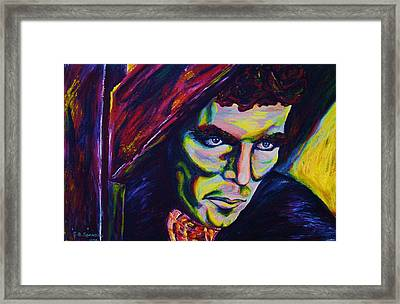 The Vampire Lestat Framed Print