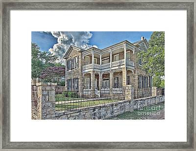 Van Der Stuken House Framed Print