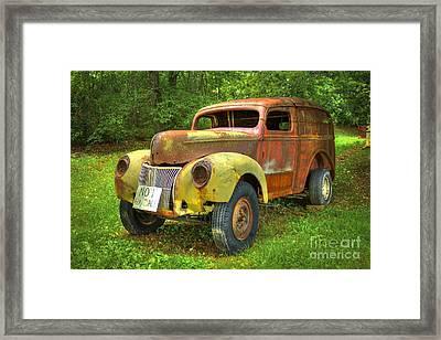 The Van Too Framed Print