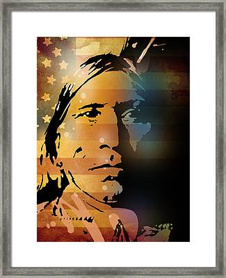 The Vanishing American Framed Print