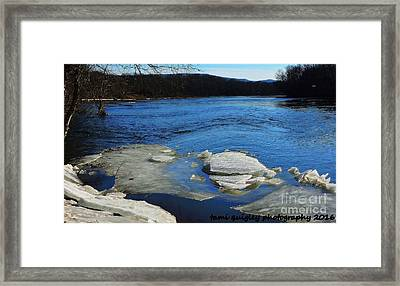 The Vanishing Winter Framed Print
