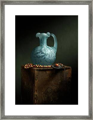 Framed Print featuring the photograph The Vase by Cindy Lark Hartman