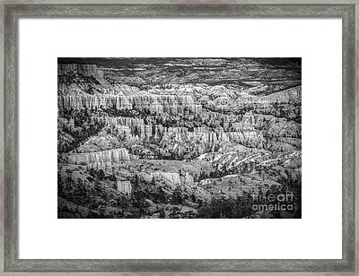 The Vastitude Of Bryce Framed Print by Jennifer Magallon