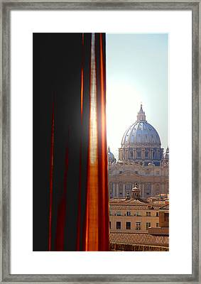 The Vatican Framed Print