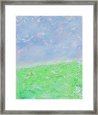 The Vaulted Sky Framed Print by Alys Caviness-Gober