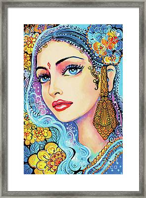 The Veil Of Aish Framed Print by Eva Campbell
