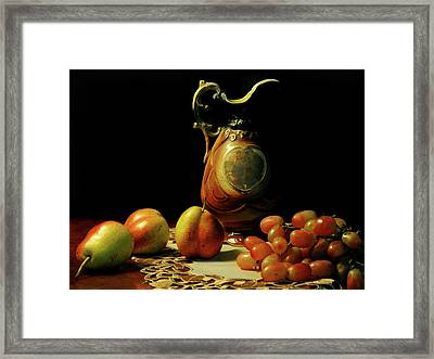 The Venetian Pitcher Framed Print by Diana Angstadt