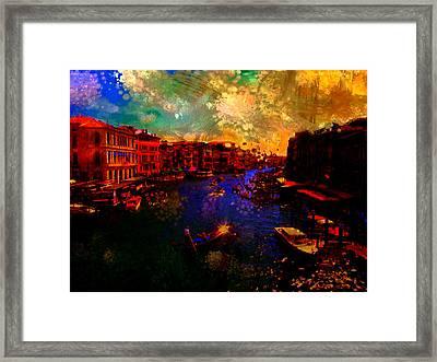 The Veneto Framed Print