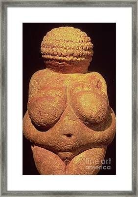 The Venus Of Willendorf Framed Print by Unknown