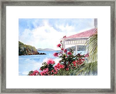 The Veranda Framed Print