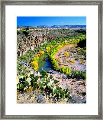 The Verde River Framed Print