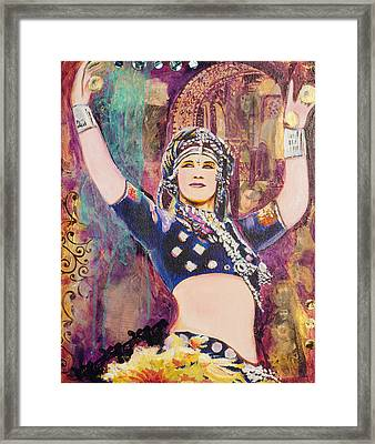 The Versatile Dancer Framed Print by Stephanie Bolton