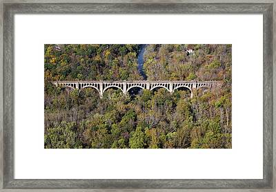 The Viaduct Framed Print