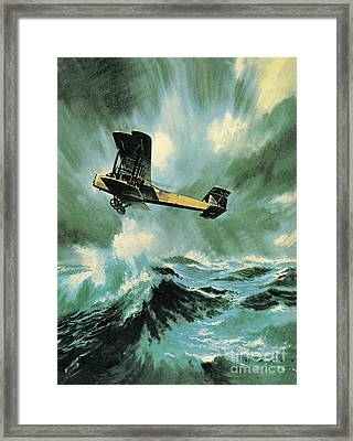 The Vickers Vimy Framed Print by Wilf Hardy
