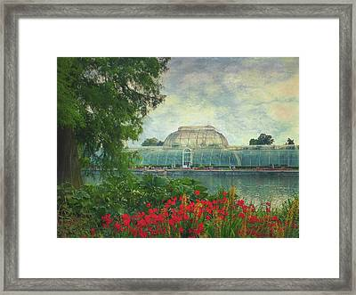 The Victorian Palm House  Framed Print