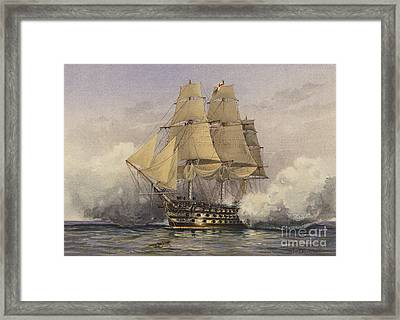 The Victory Framed Print by William Frederick Mitchell