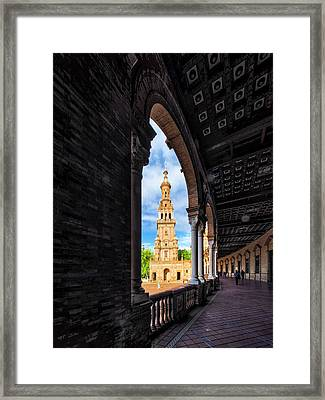 The View Again. Framed Print
